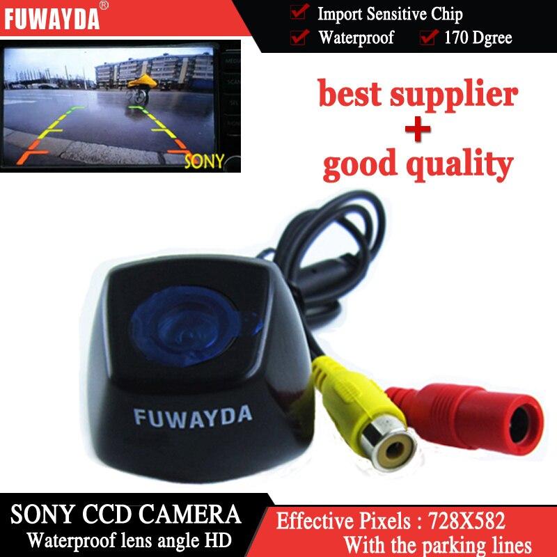 Fuwayda Sony CCD чип заднего вида обратный резервный парковка с Руководство линии камеры для BMW X1/BMW X3 /BMW X5/BMW X6 водонепроницаемый