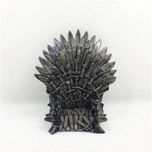 New Hot Game of thrones Character Iron Throne the iron throne model in game of thrones figure collective toys