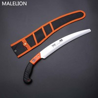 MALELION New Outdoor Garden Tools Manual Small Saw Blade Fruit Tree Pruning Logging Household Saw Woodworking Saw Blade