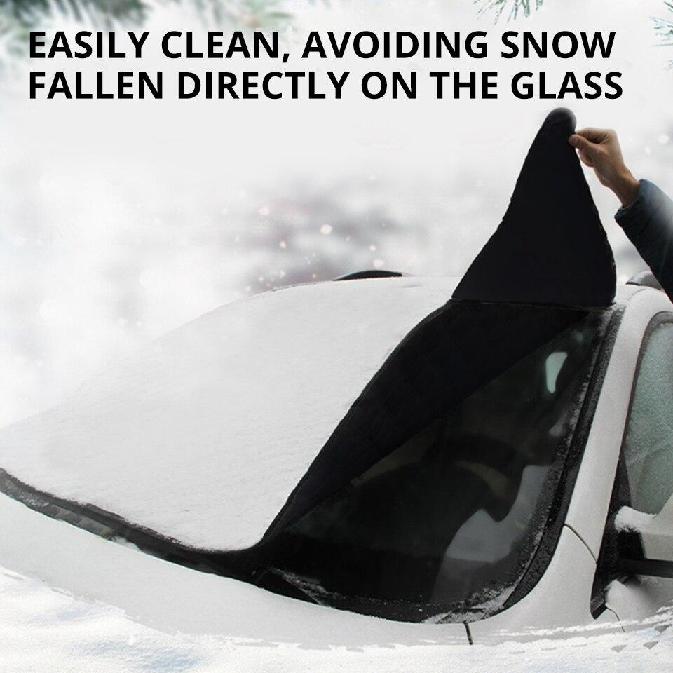 Partol универсальный автомобильный чехол на лобовое стекло, автомобильный Снежный лед, солнцезащитный козырек, Зимний Козырек на лобовое стекло, крышка на лобовое стекло