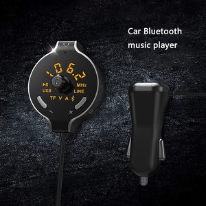 FM Transmitter Car Kit Hands-f