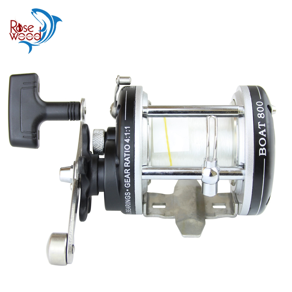 RoseWood Saltwater Reel Boat 800 Fishing Reels High Speed Gears Smoothest Drag Popular Multiplier Reel Surf