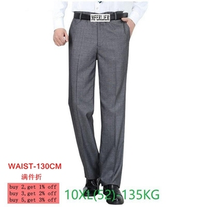 Image 1 - Pantalones de talla grande para hombre, pantalón clásico informal, para oficina y negocios, talla grande, 8XL, 9XL, 10XL, 50 52