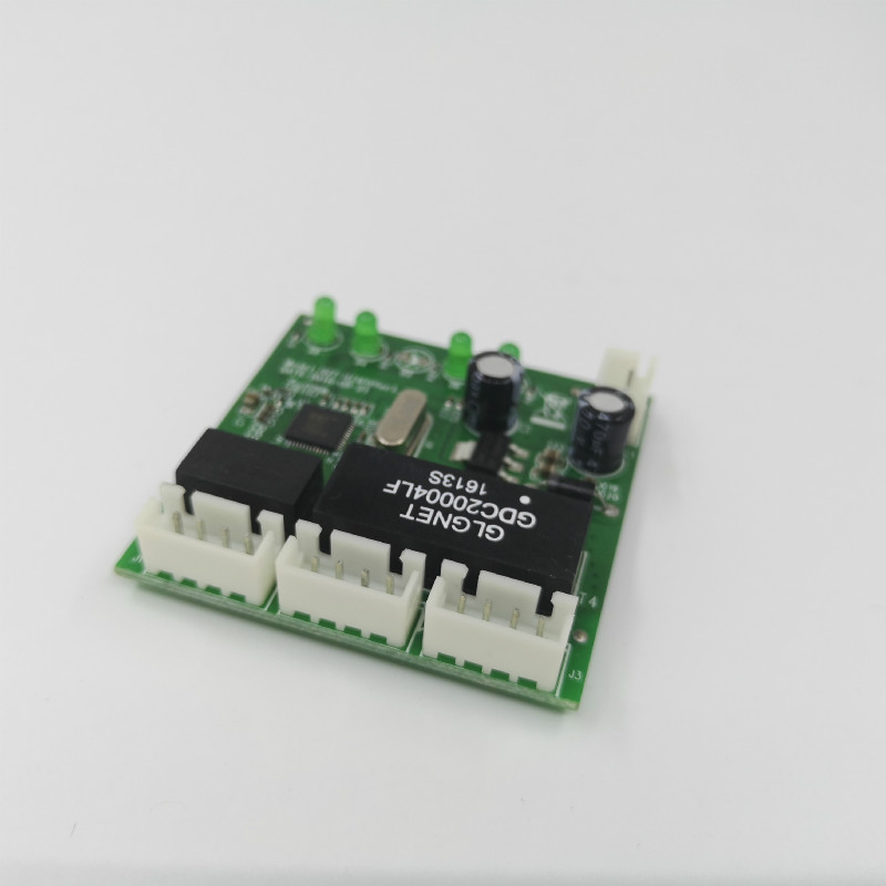 Image 2 - mini module design ethernet switch circuit board for ethernet switch module 10/100mbps 3/4/5/8 port PCBA board OEM Motherboard-in Network Switches from Computer & Office