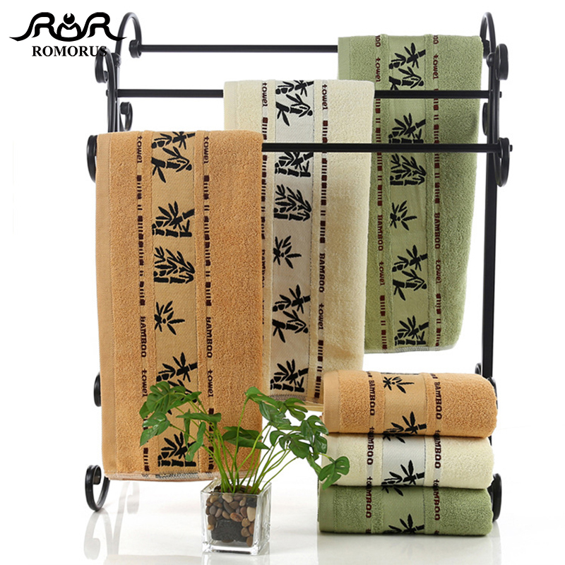 100 Bamboo Towels Super Soft Face Bath Towel Set Summer Cool Bamboo Fiber Bathroom Towels for Adults Absorbent Healthy toalla in Towel Sets from Home Garden