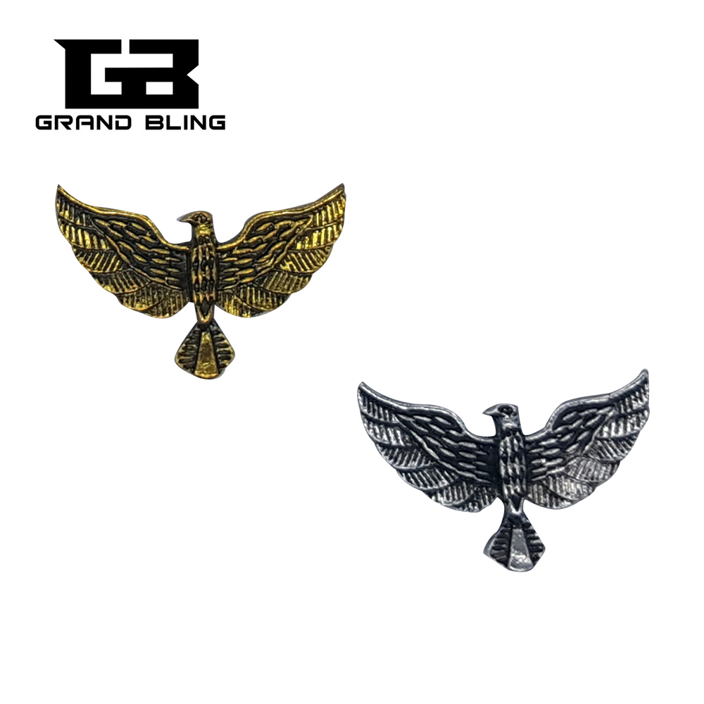 Shipping Free! New Design Vintage Eagle Pins two colors availabe