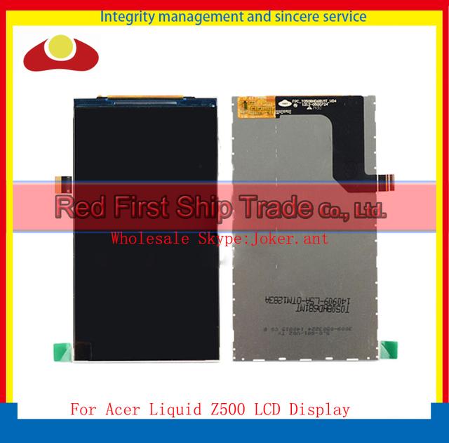 """Alta qualidade 5.0 """" para Acer Liquid Z500 Screen Display LCD frete grátis + número de rastreamento"""