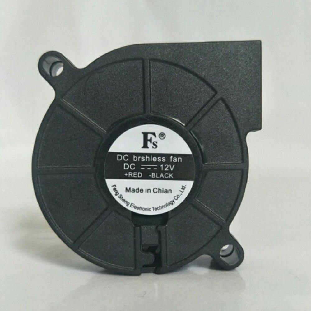 1 Pcs Ultra Ruhigen Luft Gebläse 12 V 24 V Ultra-ruhigen Öl Lager Hohe Geschwindigkeit 7500 Rpm Turbo Kleine Fan Für 3d Drucker Seien Sie Im Design Neu