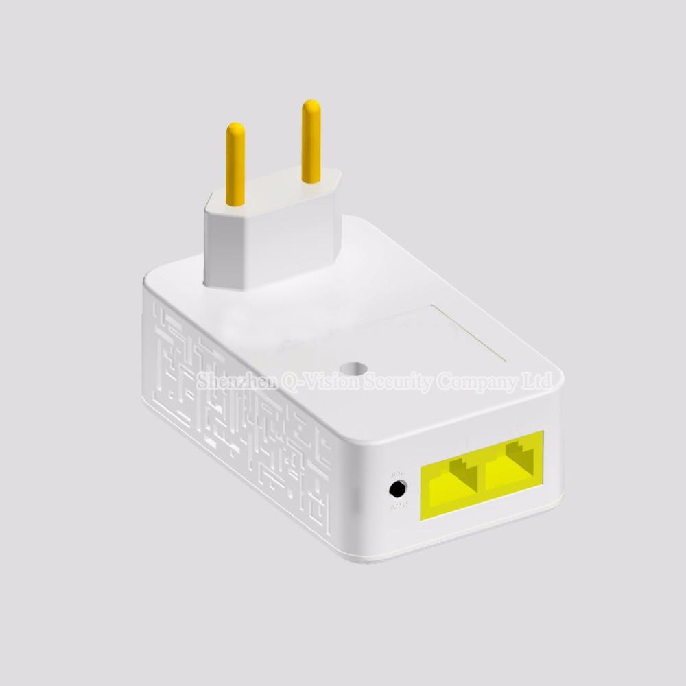 UKEUCN Broadlink DNA 200M Wireless WIFI Router Powerline Carrier Extend Wireless Smart Router WIFI Range Extender Automation