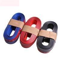 250cm 98 4inch Hot Sale Auto Bumper Carbon Fiber Rubber Protection Anti Collision Car Strips For
