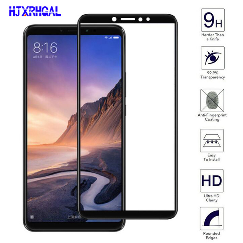 Tempered-Glass Screen-Protector Mimax2 Full-Cover Xiaomi Max3 Protective-Film