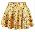 2014 mujeres del verano de faldas plisadas Princesa de Fresa FALDA Saia XS-S Ml XL2017 B123