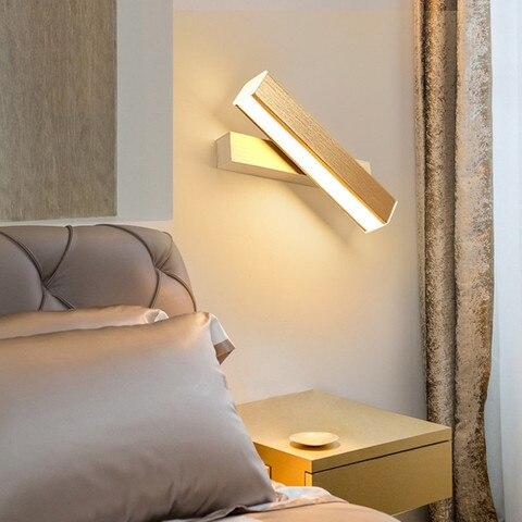 led luz parede para escadas quarto cabeceira luz do banheiro