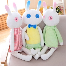 85m Large Size Soft Rabbit Plush Toy Stuffed Animal Bunny Pillow Placating Toys For Children