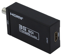 1 Piece 1080P 3G SDI l to hdmi Converter Support SD / HD-SDI / 3G-SDI Signals shown on HDMI displays  sdi2hdmi sdi to hdmi