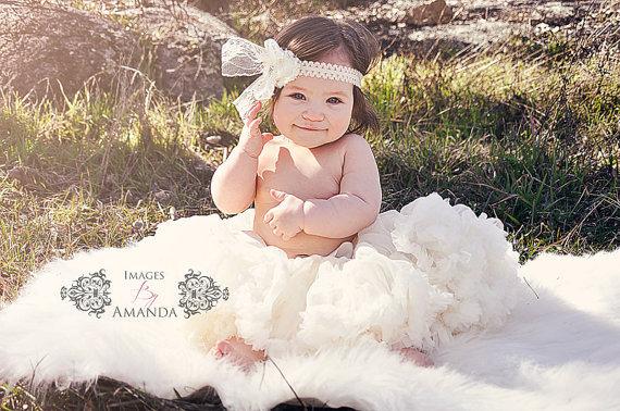 MARFIL Gasa Pettiskirt Petti Falda para el Niño, bebé de Cumpleaños Fiestas Fotos traje de Niña de las Flores falda ocasión especial