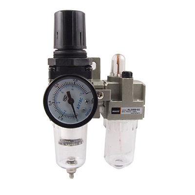 AFC-2000 Air Source Treatment Combination Unit w Pressure Gauge portable lcd digital manometer pressure gauge ht 1895 psi air pressure meter protective bag manometro pressure meter