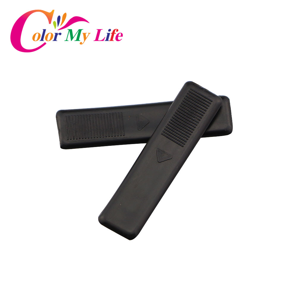 Color My Life 4Pcs Car Roof Seal Copilots Cover Roof Cover Decoration Strip Lid Clip Sticker For Mazda 3 For Mazda 6 Car Parts