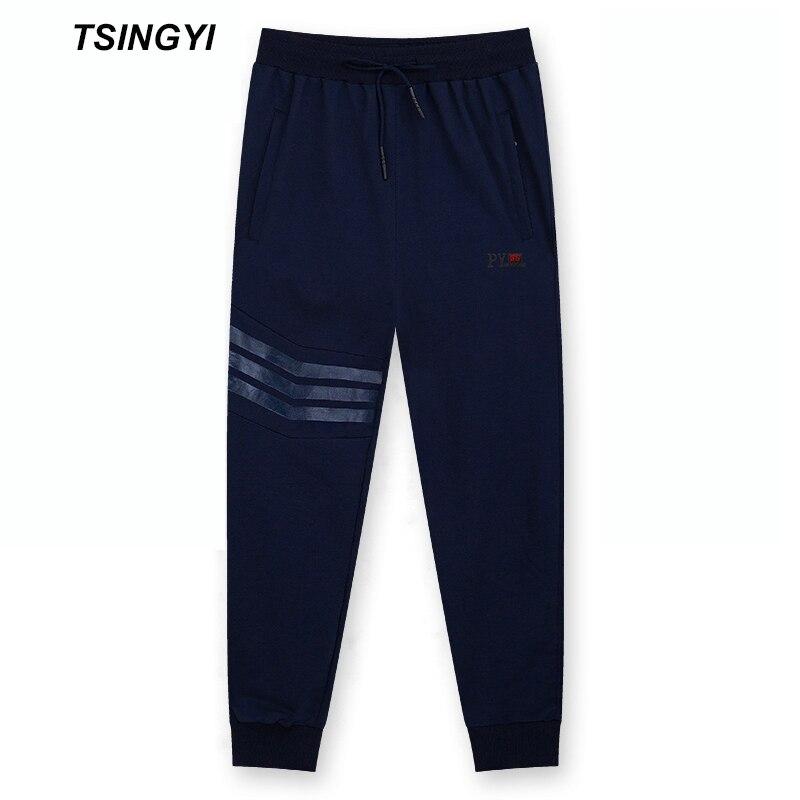 Tsingyi Over Size 9XL 8XL 50-150kg Winter Thicken Fleece Keep Warm Mens Sweat pants Casual Leggins Hombre Mens Winter Trousers