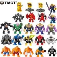 Single Sale BIG Size Thanos kilowog Venom Hulkbuster Infinity Gauntlet Building Blocks Toy For Children Compatible With Legoings(China)