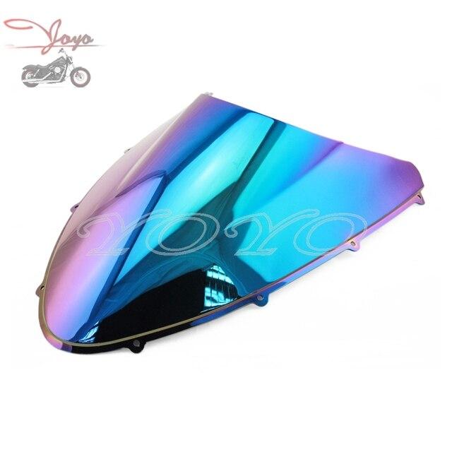 Iridium Motorcycle ABS Plastic Windshield Colorful Windscreen For Ducati 848 2008-2013 1098 2007-2009 1198 2009-2011