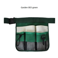 Urijk New High Quality 600D Oxford Cloth Green Black Tool Bag Reflective Tape Garden Tools Belt