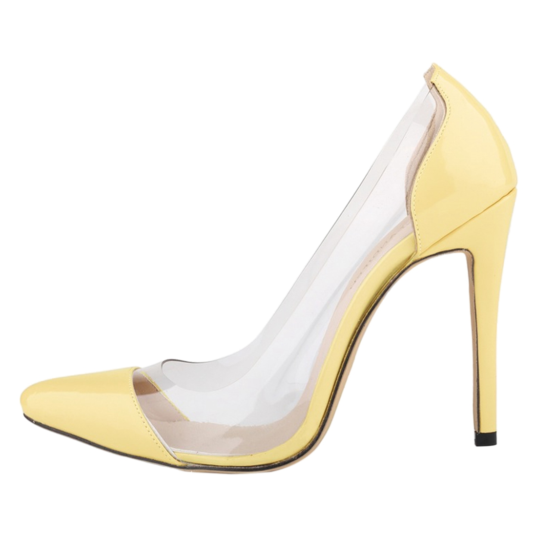 LOSLANDIFEN women summer new high-heeled shoes high quality handmade sandals / leather shoes Yellow the new type of diamond mother sandals lady leather fish mouth flowers with leather high heeled shoes slippers women shoes