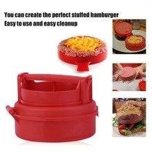 Пластиковые ручные формы для гамбургера, пресс для гамбургера, котлеты для шеф-повара, набивная форма для гамбургера, гриля, кухонные инструменты, гаджеты