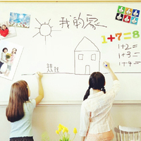 PVC Whiteboard Sticker Creative Message DIY White Board Stickers Stationary Meno Children Gift Wall Sticker 45