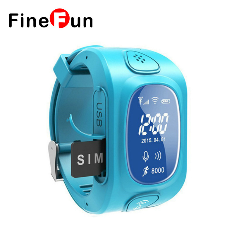 FineFun Y3 Kids GPS/GSM Smart Watch for Kids Children SmartWatch with SOS Support GSM phone Android&IOS Anti Lost цены онлайн