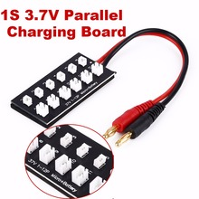 RC Helicopter Car 3 7V Battery Parallel Charging Panel Board With 12 Ports For Mini Toys