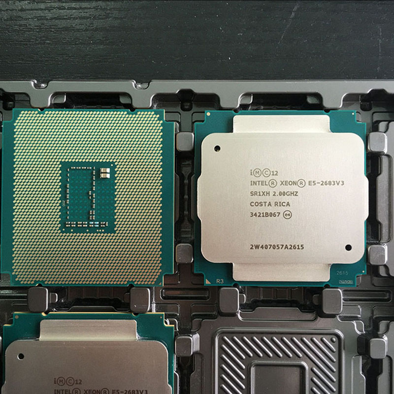 Xeon E5-2683v3 CPU 2.00GHz 14-Core E5 2683 V3 ПРОЦЕСОР 2683V3 - Компютърни компоненти - Снимка 2