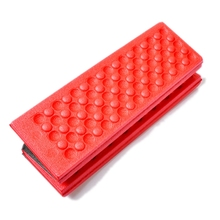 Portable Folding Outdoor Camping Moistureproof pad PE Cotton -Red+Black Free Shipping
