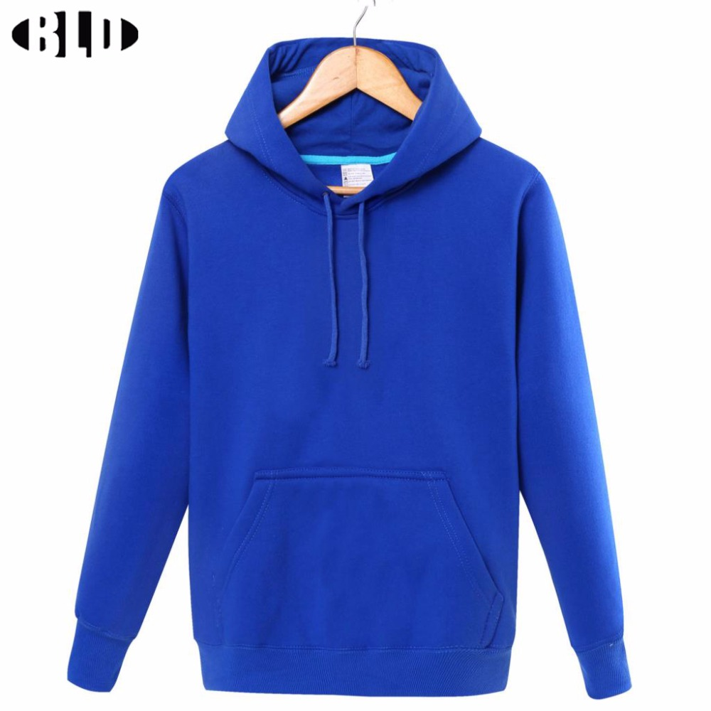 Good quality 2015 winter running jacket cotton solid 6colour long sleeve pullover and Hooded Sports basketball