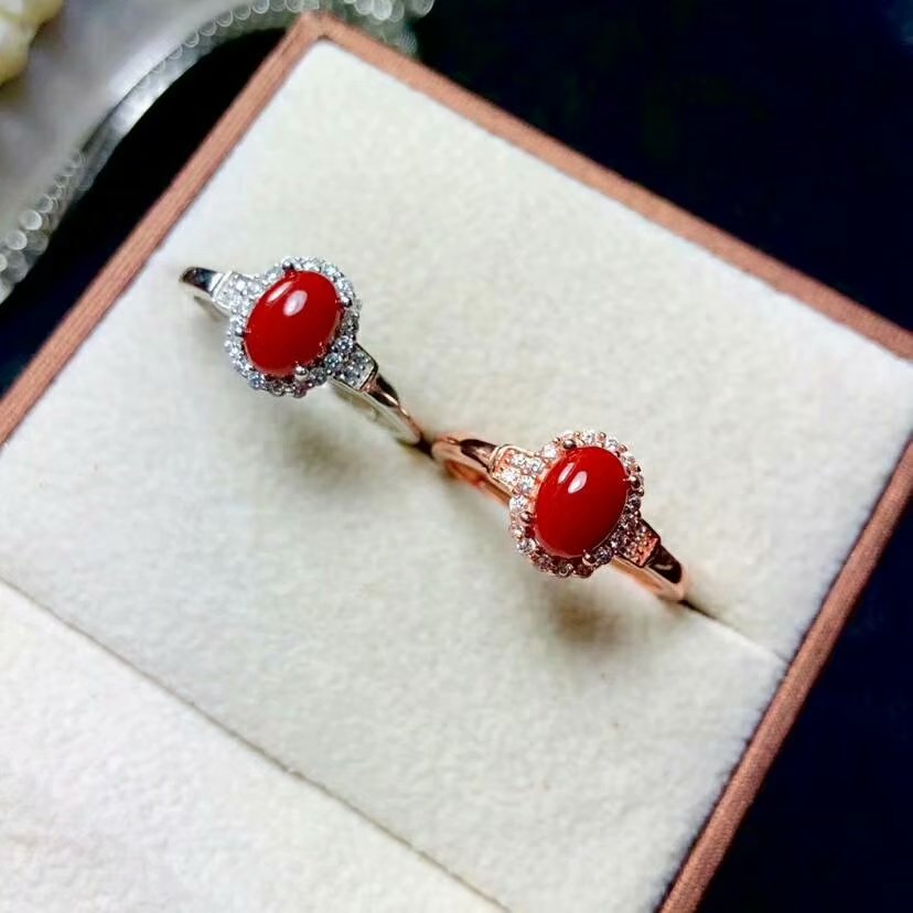 shilovem 925 sterling silver real Natural red coral rings fine Jewelry wedding women trendy open Christmas gift  yhj050799agshshilovem 925 sterling silver real Natural red coral rings fine Jewelry wedding women trendy open Christmas gift  yhj050799agsh