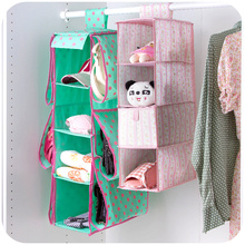 Multifunction 4 Shelf Hanging Closet Organizer Shelves,suit For Ccothes,  Sweaters, Shoes