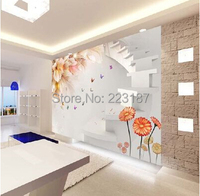 2557art Large murals3D can be custom-made furniture decorative wallpaper House Ornamentation decor wall stickers Chinese style
