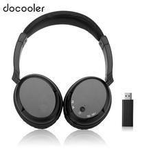 FM беспроводные наушники музыке стерео гарнитура РФ приемник с USB излучатель проводные наушники для смартфонов MP3 плеер PC
