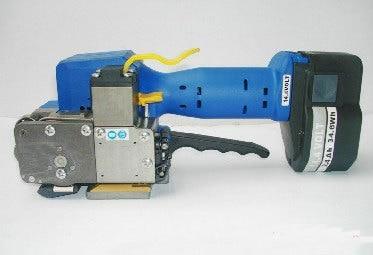 Aletler'ten Elektrikli Alet Setleri'de 1 ADET Z323 Otomatik Taşınabilir PET PP Plastik Çemberleme Makinesi PET El Çemberleme Paketleme Aracı 10 16 MM title=