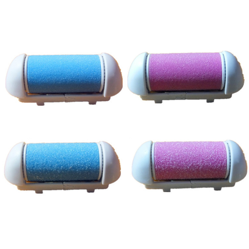 Fine Sand+Coarse Sand Roller Grinding Head Replacement Foot File Dead Skin Callus Remova ...