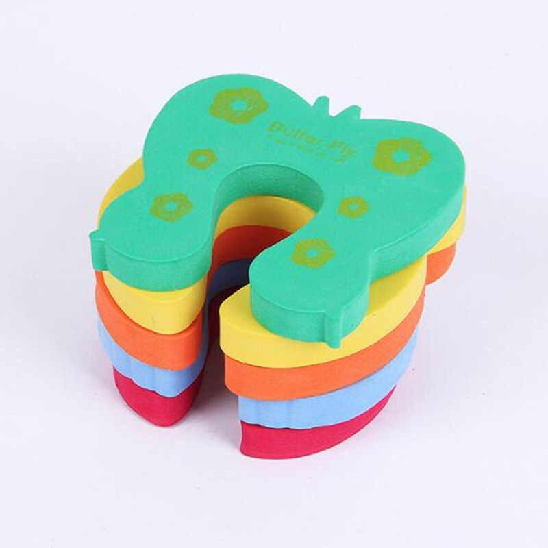 Новый 6 шт детский пинч защита для пальцев заглушка Блокировка стопор протектор безопасность стоп цвет Случайный Доставка Новый