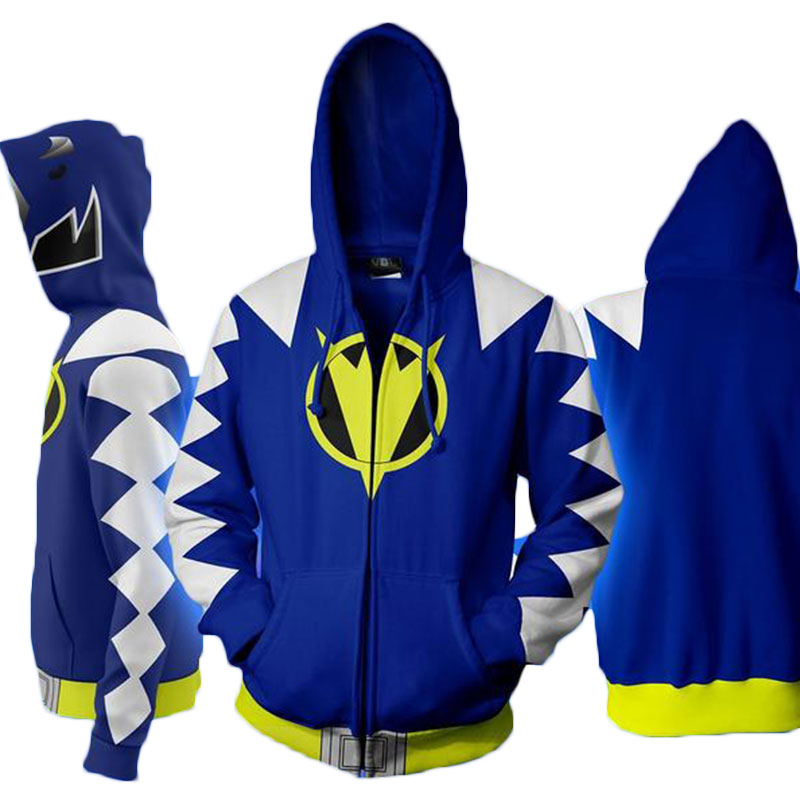 Cloudstyle Cosplay 3D Zip Up Hoodies Άνδρες Dino Charge 3D - Ανδρικός ρουχισμός - Φωτογραφία 3