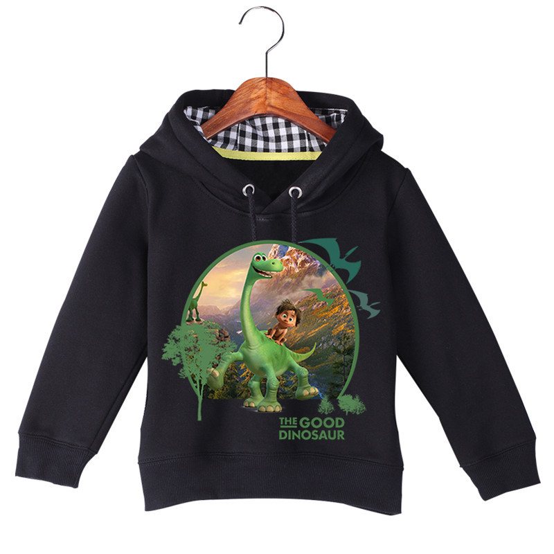 Hot Sale Baby Girl Boy Cartoon Long Sleeve The Good Dinosaur Printing Sweatshirts Baby Kids Autumn Winter Hoodie Tops GCM017 (2)