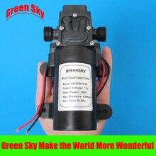 5L/Min DC12V 60W 0.8MPa high pressure diaphragm pump dc