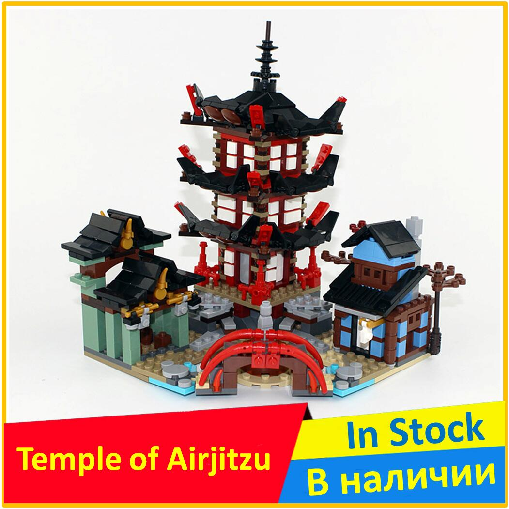 Temple of Airjitzu  Building Blocks Model Yile 333 Compatible legoes with Ninja Model Toys For ChildrenTemple of Airjitzu  Building Blocks Model Yile 333 Compatible legoes with Ninja Model Toys For Children