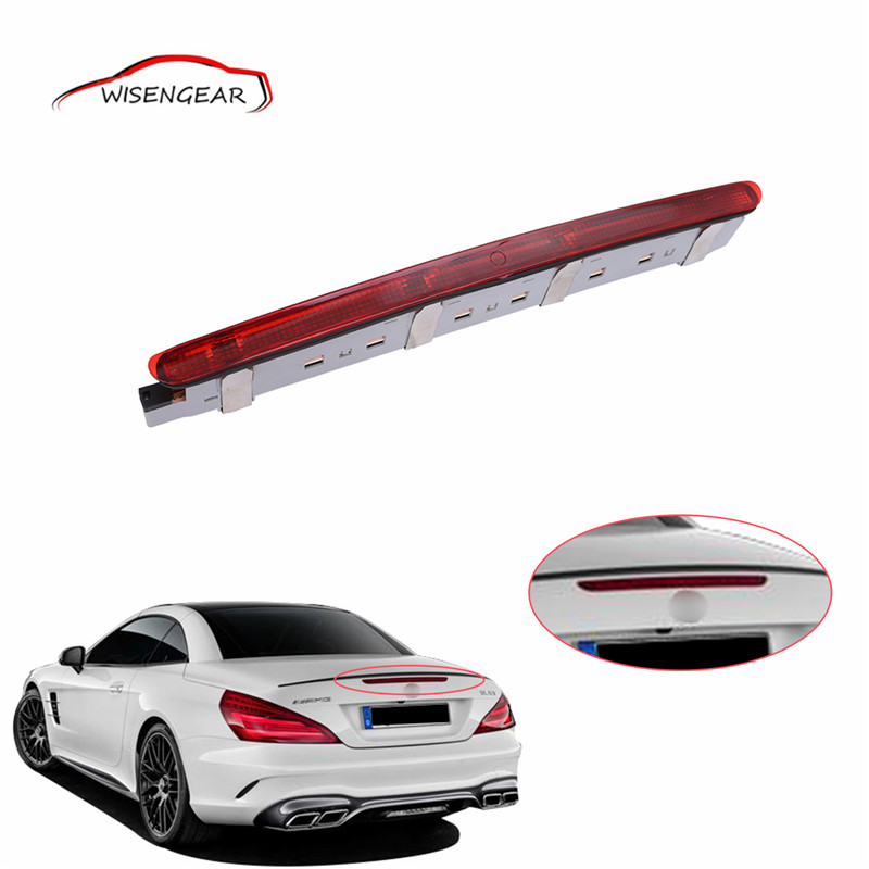 Tail Rear Third Brake Light LED Red Saloon For Mercedes Benz C-Class W203 2000 - 2007 2038200156 C/5 auto fuel filter 163 477 0201 163 477 0701 for mercedes benz