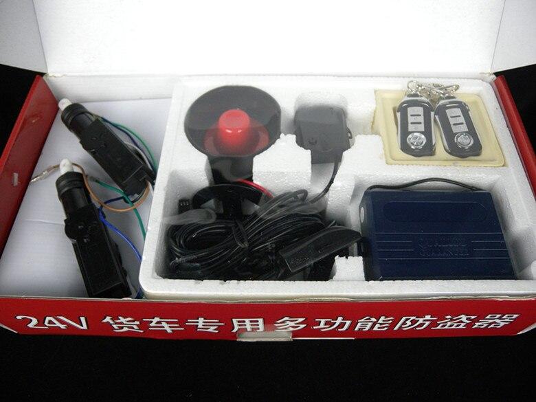 Système antivol à verrouillage Central 2 portes fenêtre automatique 24 V système de sécurité d'alarme de voiture