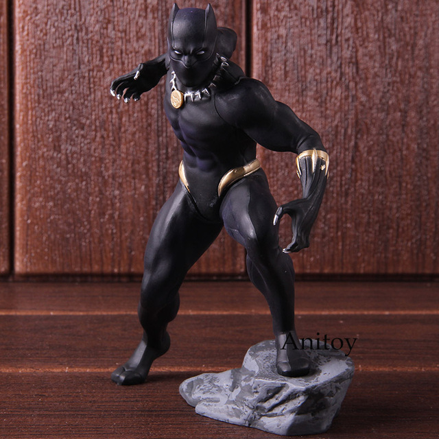 Marvel Action Figure Avengers Black Panther 15cm