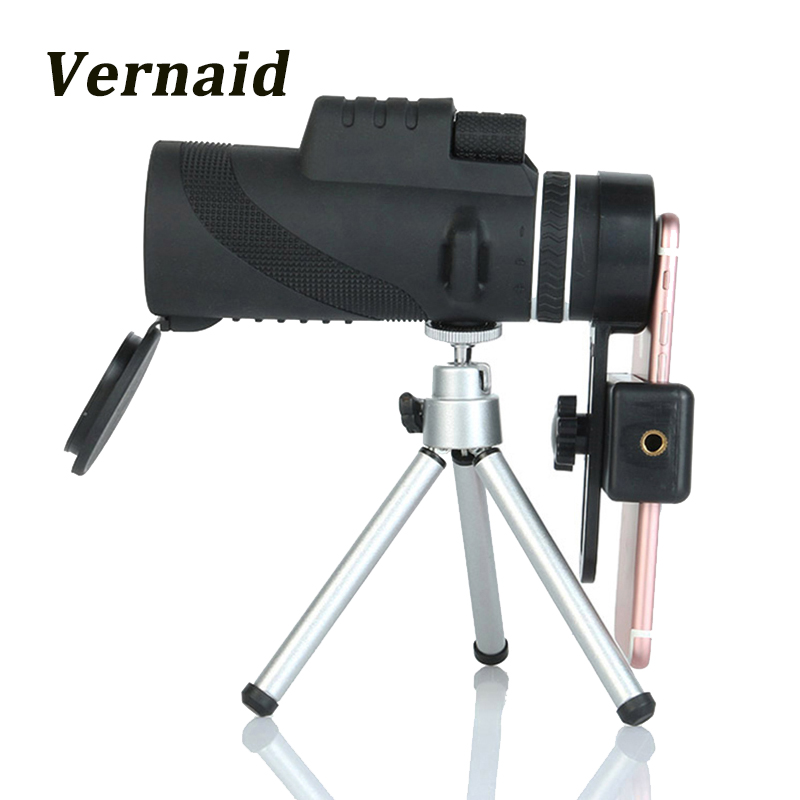 40X60 Monocular Powerful Hunting Telescope HD High quality Vision for Bird Watching Waterproof Professional Binoculars eyeskey new 10x25 hd binoculars wide vision center focus optical lens outdoor camping bird watching hunting telescope waterproof