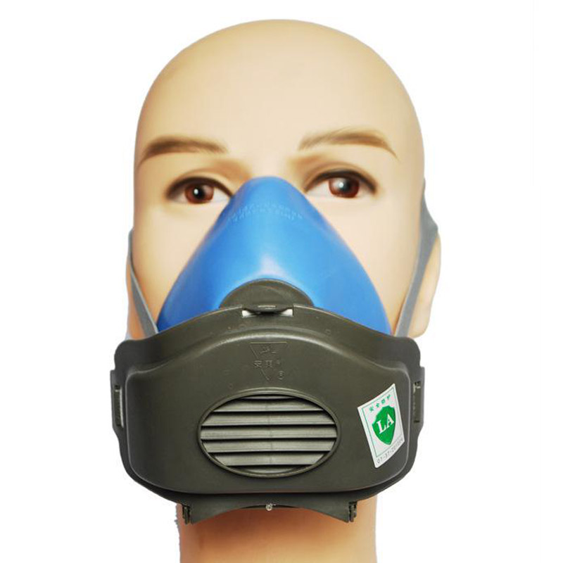 Respirator Dust Mask Protective Mask Anti Dust Organic Gases and Vapors Filter Cartridge Face Shield Workplace Safety GMZ011 10 pcs a lot 3803 dust mask cotton filter for anti dust mask workplace safety supplies new arrival excellent quality
